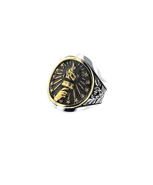 Santa Fe Jewelry King Baby Liberty Torch Cigar Band.