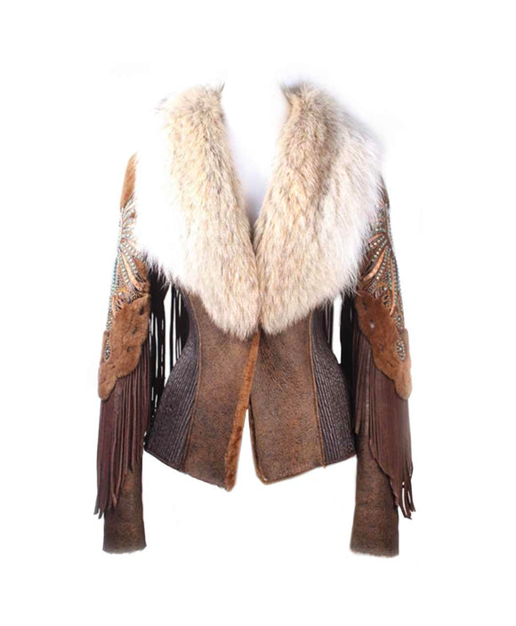 Santa Fe Leather Jackets Kippys Zaharote Shearling Jacket