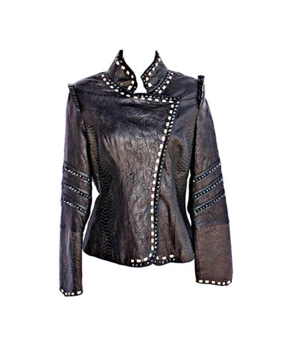 Santa Fe Leather Jacket Kippys Cleo Cruzada