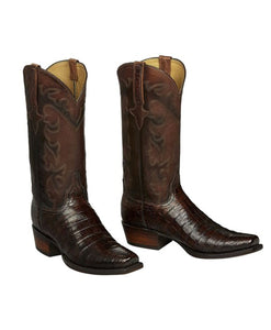 Santa Fe Cowboy Boots Lucchese Men's Western Boot, Both shoes.