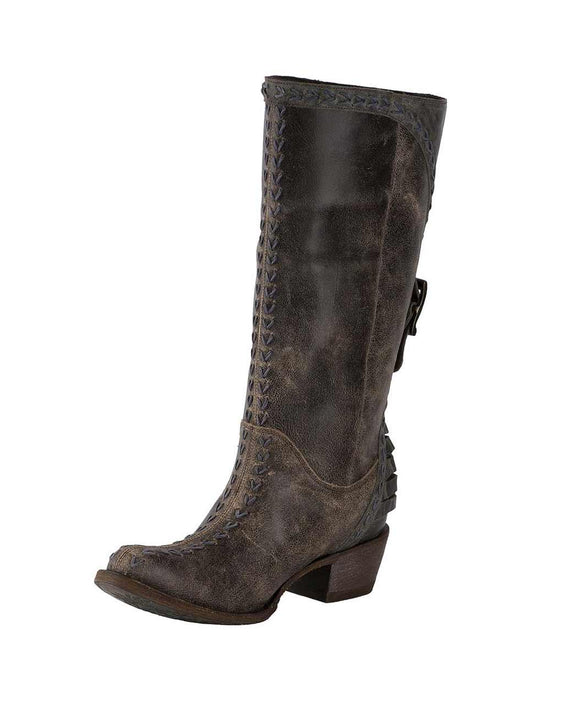 Santa Fe Cowboy Boots Lane - Coachelle Nightfall Women's Boot Left View