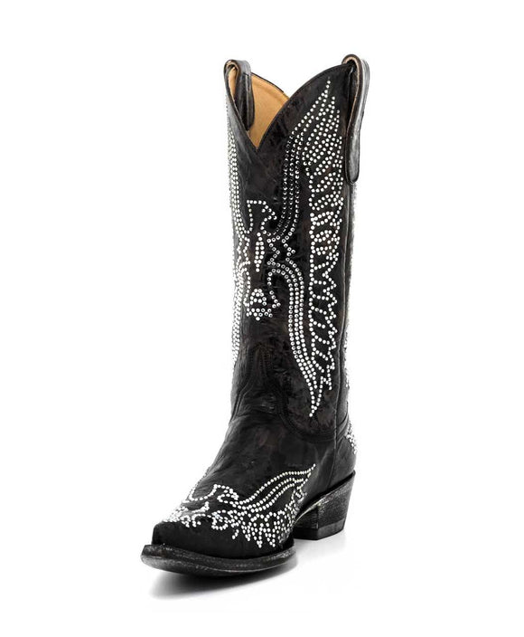 Santa Fe Cowboy Boots Old Gringo Crystal Eagle Boot