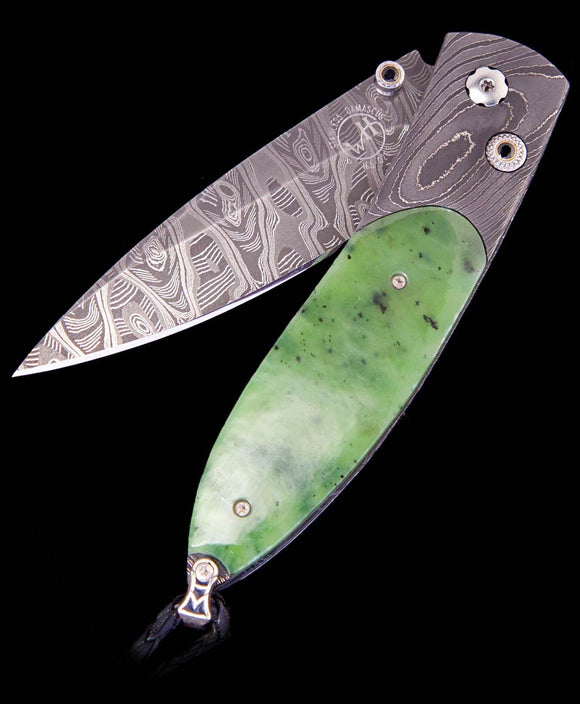 Santa Fe Knives Green Jade Scale Pocket Knife