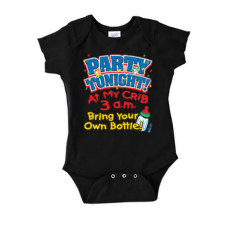Party Tonight At My Crib Onesie