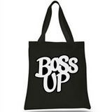 Boss Up Canvas Promo Handbag - Random Tees & Things