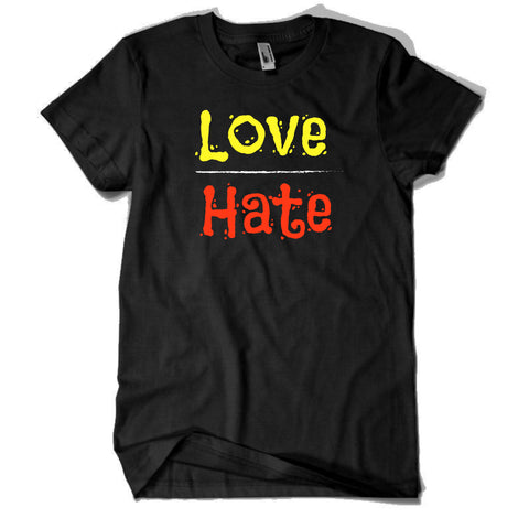 love hate t shirt