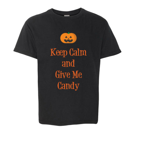 Keep Calm and Give Me Candy Toddler/Youth Tee
