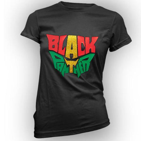 black panther women's t shirt