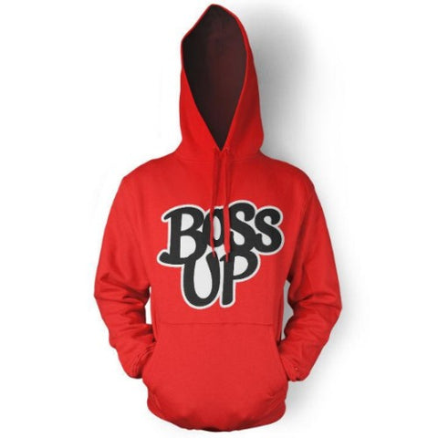 Boss Up Hooded Sweatshirt - Random Tees & Things