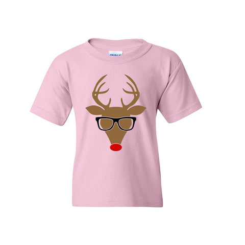 Hipster Reindeer - Toddler/Youth Tee's
