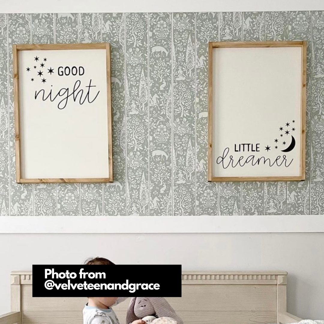 Welcome Spring Hello Summer Reversible Wood Sign