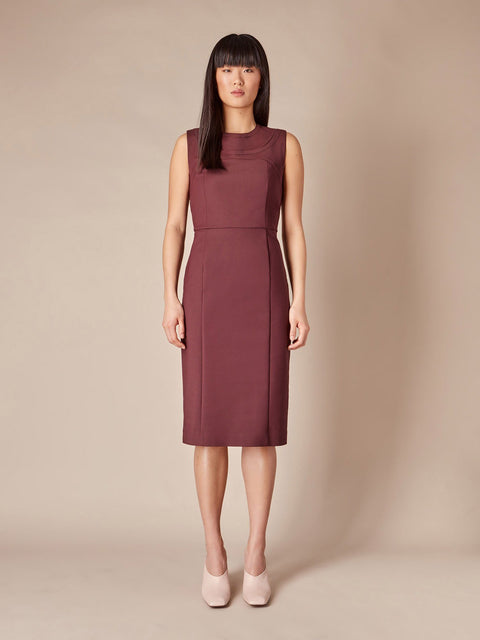 Montmartre Dress - Plum