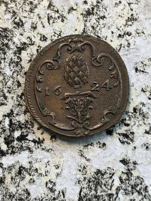 1624 Germany Augsburg Scheffelmarke Token Lot#JM613 Bushel Token