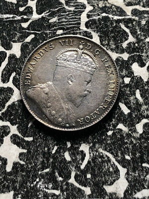 1902-H Canada 10 Cent Lot#JM898 Silver! High Grade! Beautiful Toning!