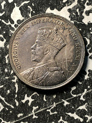 1935 Canada $1 Lot#JM896 Large Silver Coin! High Grade! Beautiful Toning!