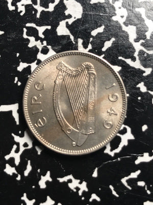 1949 Ireland 6 Pence Lot#X7502 High Grade! Beautiful!