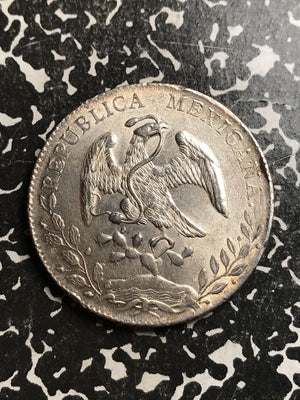 1890-Pi MR Mexico 8 Reales Lot#X6683-B Large Silver Coin! High Grade! Beautiful!