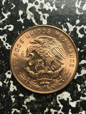 1964 Mexico 20 Centavos Lot#L906 High Grade! Beautiful!