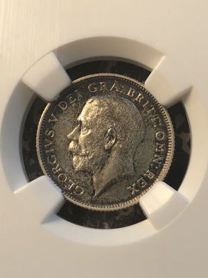 1911 Great Britain George V 8 Piece Proof Set NGC PR64-PR66 1 Penny- 1/2 Crown