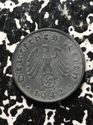 1942-G Germany 10 Pfennig Lot#0389