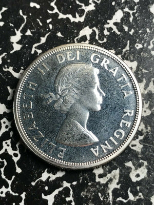 1964 Canada $1 1 Dollar Lot#L4354 Large Silver Coin! High Grade! Beautiful!