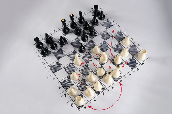 Video Strategy Chess Board