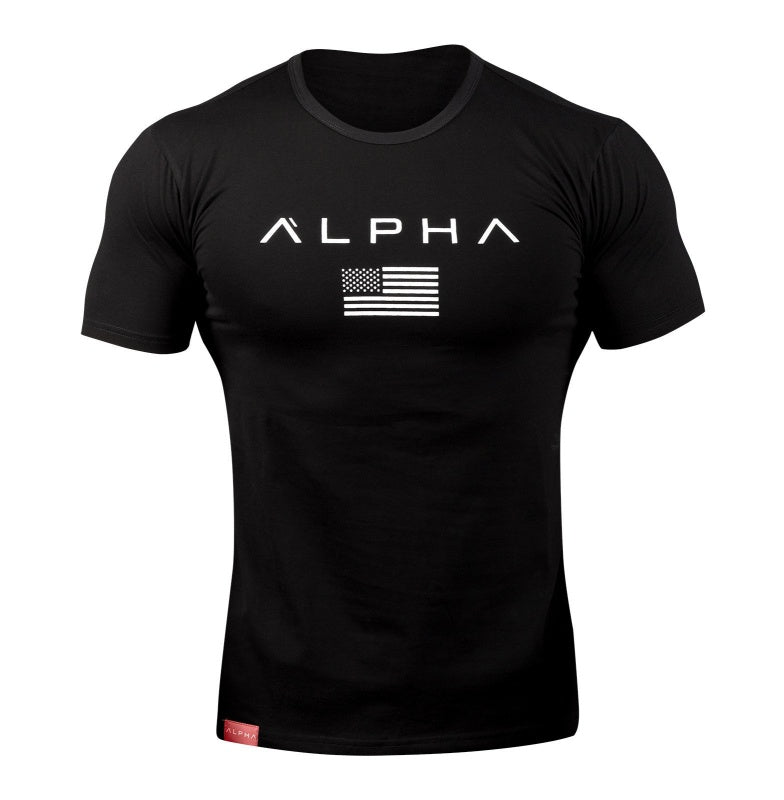 USA ALPHA - SLIM FIT T-SHIRT - Waakiki