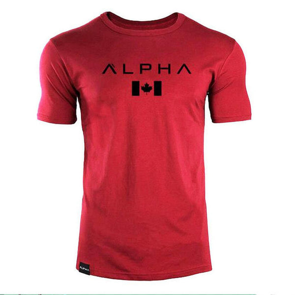 CANADA ALPHA - SLIM FIT T-SHIRT - Waakiki