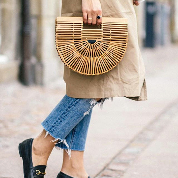 Fashion's Eco-friendly Bamboo Bag - Waakiki