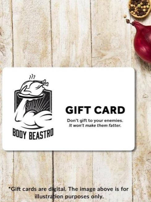 Body Beastro Gift Card