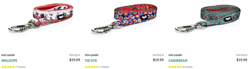 Stylish Dog Leashes at HeadyPets