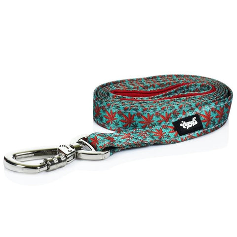 HeadyPet Weed Print Dog Leash