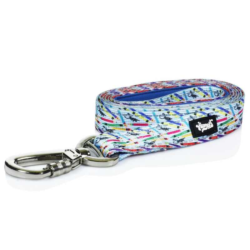 Heady Pet Dog Leash - Sherbert Pencils And Crayons