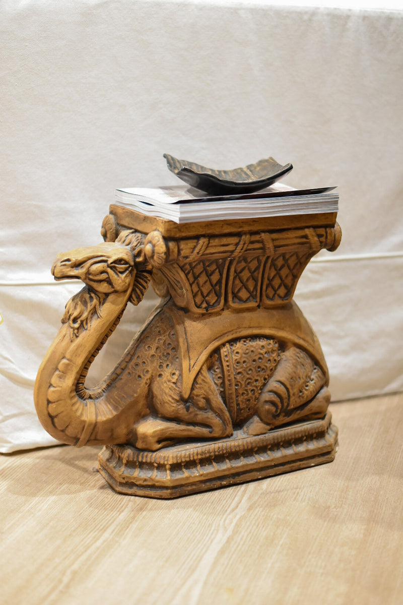 Camel Side Table