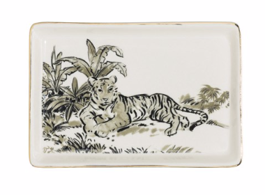 Jungle Cat Plates