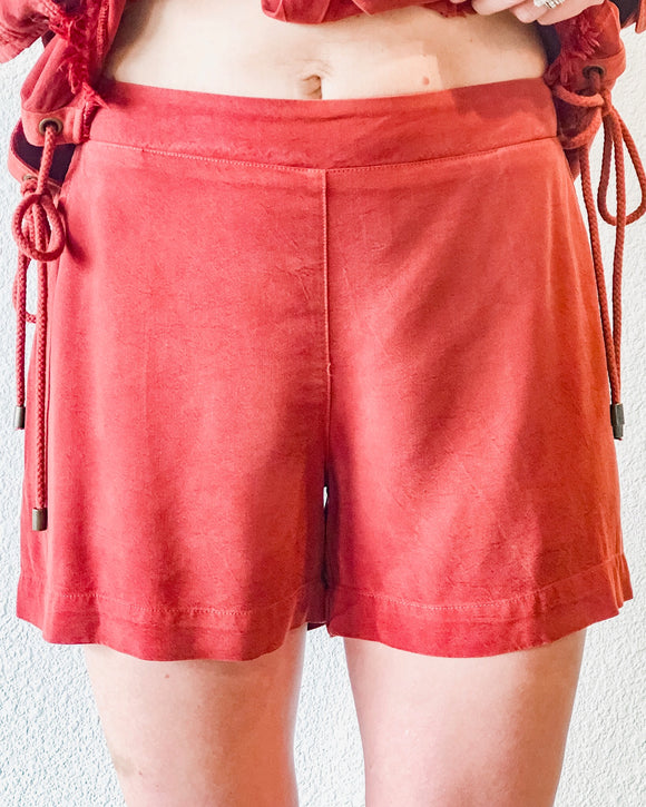Brick Elastic Short