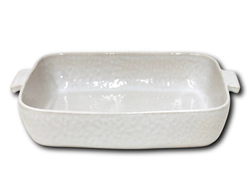 Cozina White Rectangular Baker