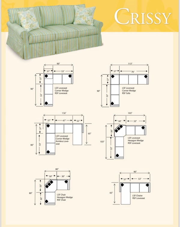 Crissy Sofa Collection
