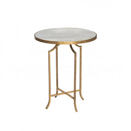 Fuji Mirrored Occasional Table
