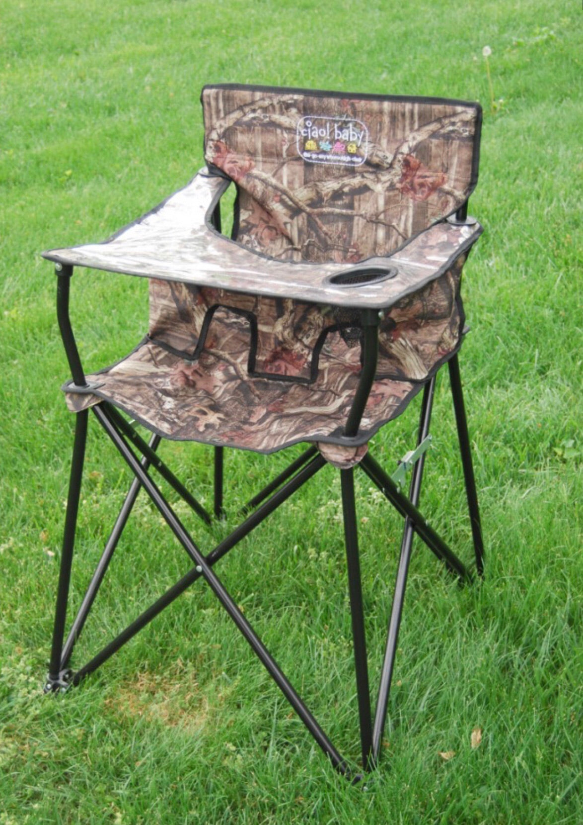 Excellent Ciao Baby Mossy Oak Portable High Chair Ocoug Best Dining Table And Chair Ideas Images Ocougorg