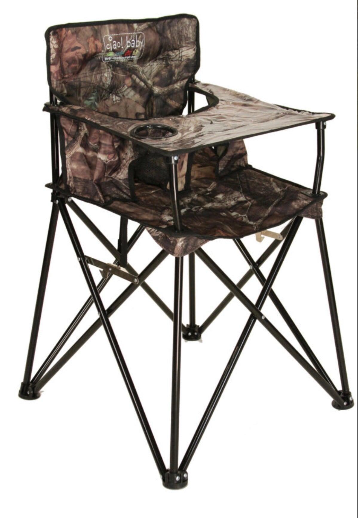 Awesome Ciao Baby Mossy Oak Portable High Chair Gmtry Best Dining Table And Chair Ideas Images Gmtryco
