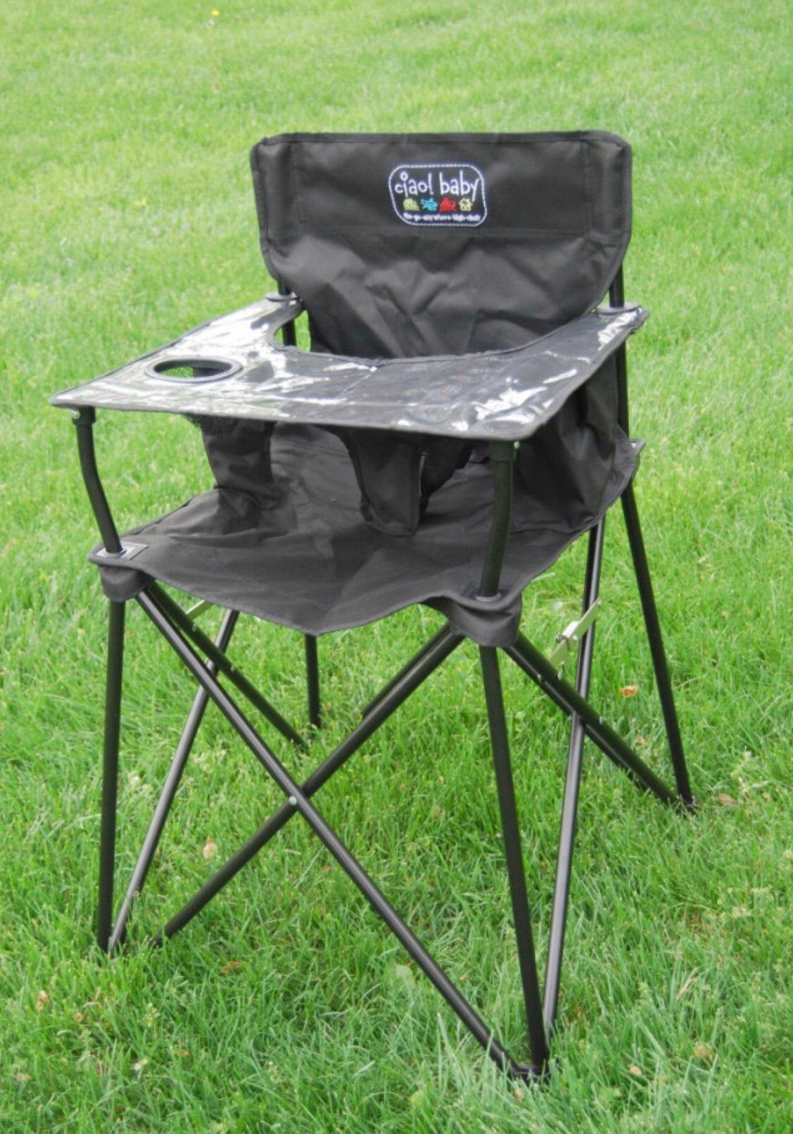 Sensational Ciao Baby Black Portable High Chair Ocoug Best Dining Table And Chair Ideas Images Ocougorg