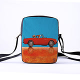 Messenger Bags 3D-Denim Shoulder Bag Handbags fashion car Messenger Bag Women Single Shopping Bag