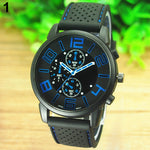 Wrist Watch Men's Casual Sports Stainless Steel Jewellery. Amazing value only £2