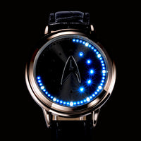 STAR TREK Watch Models Spock Starfleet Spock LED waterproof touch screen Jewellery