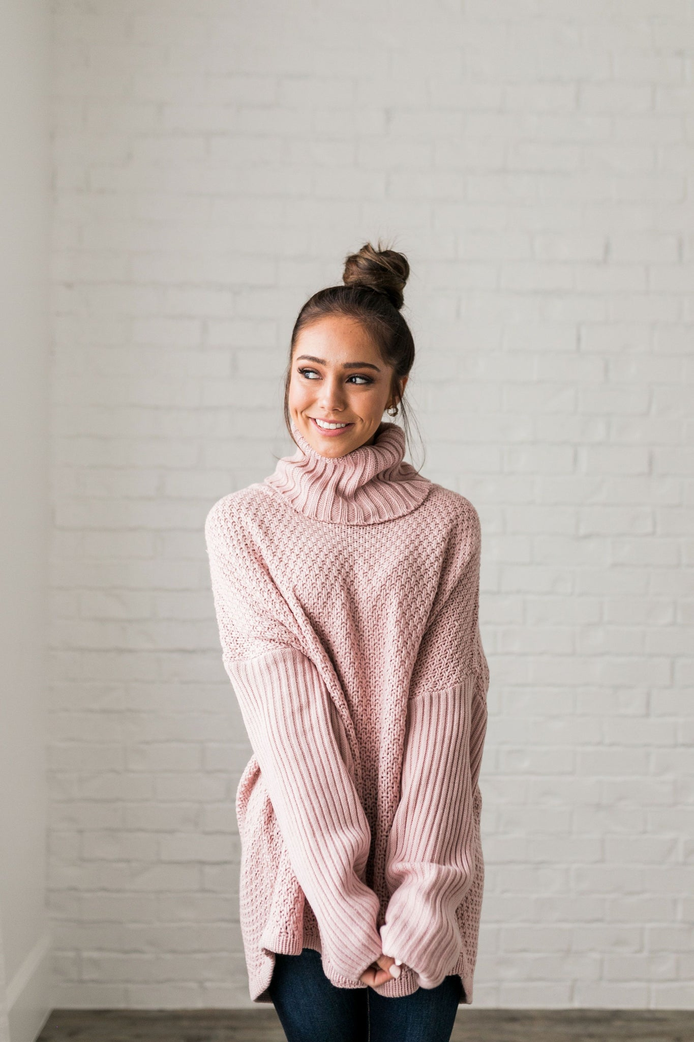 98948e168 Chunky Cowl Neck Sweater - ALL SALES FINAL