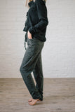 Cozy Joggers with Side Pockets in Charcoal