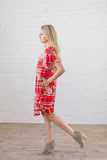 Flutter Me Up Red Dress