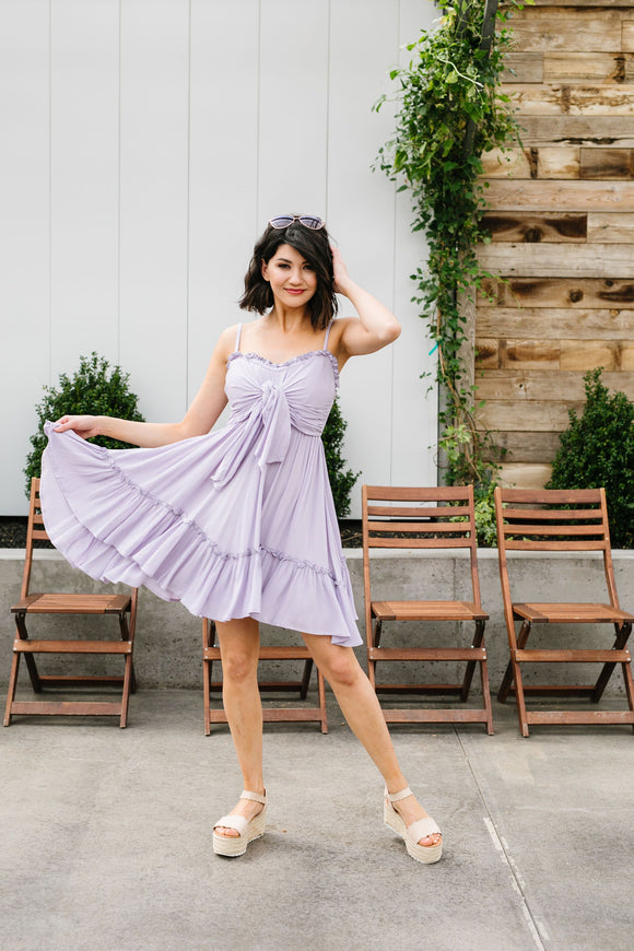 Lavender Tie The Knot Dress