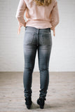 Light Gray Super Skinny Jeans